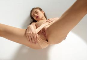 hilary, aksana k, jane j, liana c, model, babe, brunette, tits, boobs, bodysuit, pussy, shaved pussy, labia, meat curtains