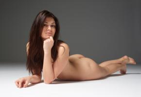 lidia, model, babe, brunette, italy, nude