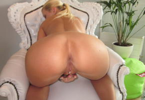 blonde, milf, doggy, masturbating, ass, pussy, labia, mature, kim holland