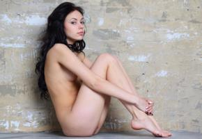 sheri vi, joanna, darina, karina, genie, divina, model, pretty, babe, dark hair, russian, sensual lips, pussy, shaved pussy, legs, graceful feet, nude