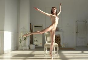 lapa, pala, taressa, model, pretty, babe, redhair, redhead, russian, small tits, tits, slim, skinny, pussy, shaved pussy, nude, legs, ballerine, ballerina shoes