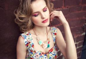 alena emelyanova, model, pretty, russian, dress, beautiful, face, 4k, uhd