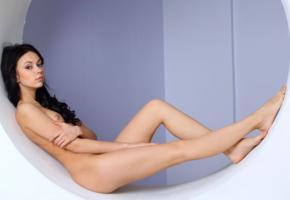 sheri vi, joanna, darina, karina, genie, divina, model, awesome, babe, dark hair, russian, sensual lips, tits, beautiful legs, nude