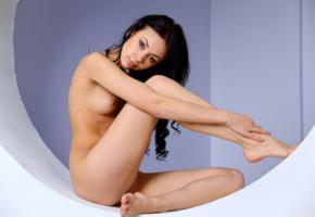 sheri vi, joanna, darina, karina, genie, divina, model, dark hair, russian, tits, legs, graceful feet, nude