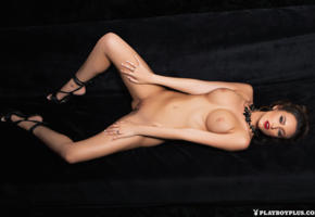 tanned, nude, boobs, big tits, brunette, shaved pussy, deanna greene
