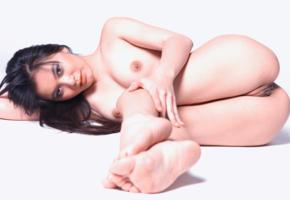yoko, legs, tits, boobs, labia, nude, brunette, pussy, asian