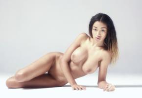 tarya, ebony, pussy, boobs, big tits, shaved pussy, nude