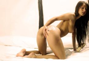 melisa mendiny, cream, ass, pussy, oiled, tits, boobs, doggy