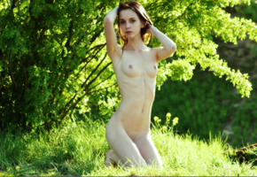 pala, boobs, nude, outdoors, nature, tits, skinny