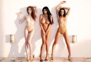 nude, sexy, outdoors, lucy, sapphira, heidi, heidi romanova, lucy li, sapphira a, oiled, boobs, big tits, tits, sexy legs, long legs