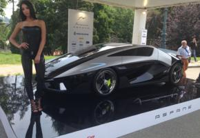 brunette, car, frangivento, model, frangivento asfane, low quality, supercar, italy
