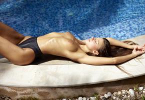 maria ryabushkina, maria, tara, melena, maria rya, auburn, pool, wet, bikini, topless, tits, nipples, tanned, ultra hi-q