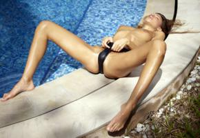 maria ryabushkina, maria, tara, melena, maria rya, auburn, pool, bikini, wet, cameltoe, topless, tits, nipples, spread legs, tanned, ultra hi-q