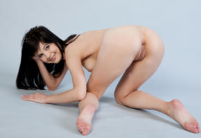 zelda b, zelda, arina b, naked, sexy, hi-q, shaved pussy, pussy, model, hot, smile, legs, brunette, all natural, gorgeous, beauty, sexy girl, boobs, tits, breast, feet, ass, doggy style, doggy, anus