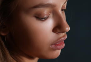 elin, aya beshen, tanned, brunette, puffy lips, sexy, lips, face, portrait