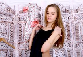 carolina, carolina sampaio, model, russian, beautiful, dress, 4k