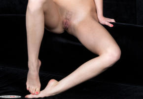 nikia a, naked, pussy, model, legs, hi-q, hot, labia, sofa