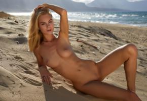 nancy a, jane f, erica, blonde, beach, naked, tits, nipples, shaved pussy, spread legs, hi-q, boobs, sea, tanned, nancy ace