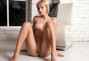 ariel, lilit a, ariela, rufina t, blonde, naked, tits, nipples, shaved pussy, labia, ass, smile, hi-q, pussy