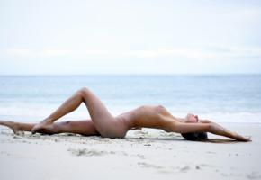 maria ryabushkina, maria, tara, melena, maria rya, brunette, beach, naked, wet, tanned, tits, ultra hi-q, sea, sexy legs