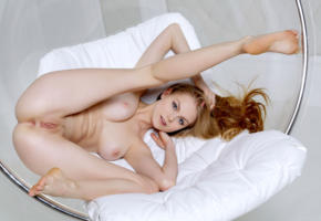 nancy a, jane f, erica, model, blue eyes, perfect girl, tits, boobs, open legs, pussy, shaved pussy, labia, anus, legs, graceful feet, bubble chair, nude, nancy ace, soles