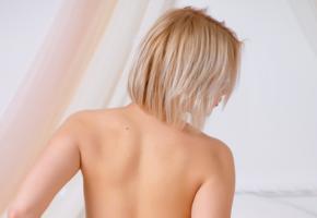 cali, sandra, blonde, sexy girl, adult model, back