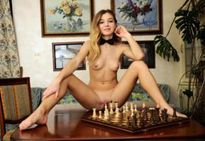 kaleesy, redhead, chess, perfect, tits