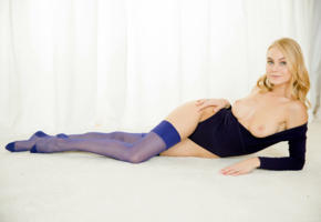 nancy a, jane f, erica, blonde, lingerie, body suit, nylons, stocking, topless, tits, nipples, smile, hi-q, boobs, nancy ace