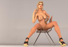 blonde, boobs, big tits, hot, naked, pussy, legs, nude, 3g, graphics