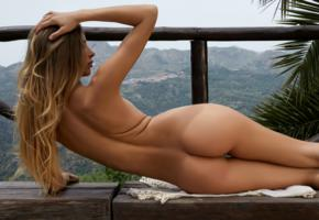 claudia, beauty, model, naked, tanned, sexy body, ass, sexy ass, nude