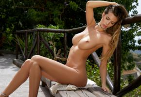 claudia, beauty, model, naked, tanned, sexy body, tits, boobs, big tits, nude