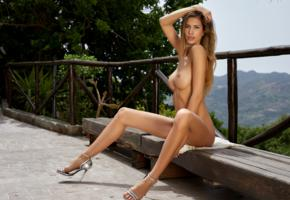 claudia, beauty, model, naked, tanned, sexy body, legs, tits, boobs, big tits, nude
