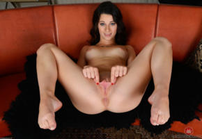 lacey channing, brunette, pornstar, feet, spread labia, ass, pussy, labia, anus, shaved pussy, tits