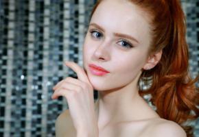 bella milano, elizaveta shahmametova, elizaveta prohorenko, redhead, pretty, face