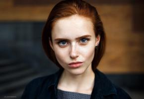 bella milano, elizaveta shahmametova, elizaveta prohorenko, redhead, pretty, model, face