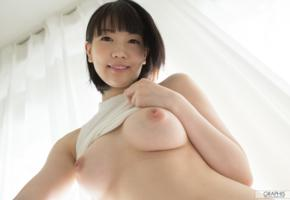 japanese girls, koharu suzu, asian girls, asian, nipples, boobs, big tits, brunette, smile, japanese