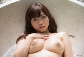japanese girl, jav, asian girls, asian, wet, nude, nipples, boobs, big tits, brunette, bathtub, miharu usa, japanese