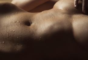 wet, boobs, big tits, close up