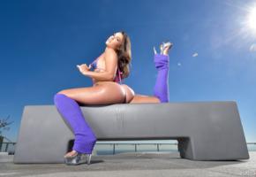 sexy, ass, kelsi monroe, sexy ass, tanned, big ass, wet, wet ass, flexible, brunette, sexy legs