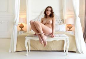 saloma, maxa, maxa z, morea, panties, nude, boobs, tits, nipples, thong, feet, undressing