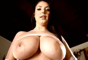 angela white, boobs, sexy, 4k, big tits, nipples, hooters, brunette