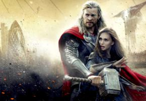 natalie portman, chris hemsworth, fantasy, thor