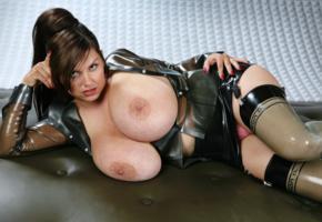 milena velba, polnish, busty, milf, erotic model, natural big tits, tight clothes, latex, curvy, fetish babe, erotic