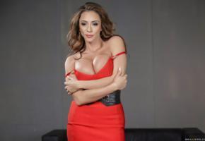 red dress, milf, big tits, ariella ferrera, brunette, dress, busty, non nude, ariella, ariella ferrara, ella ferrera