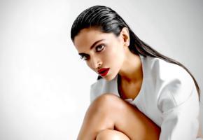 deepika padukone, model, dark hair, sensual lips, actress, india, face, portrait, real celebs wall