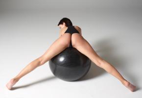 ariel, lilit a, short hair, babe, exercise ball, backless, legs, gym ball, ariel a, ariela, laela ryiah, lilit, lillianne, natasha udovenko, natellaq, rufina t, sexy ass, spreading legs, sexy, ass wallpaper