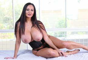 big tits, breasts, busty, hooters, ava addams, curvy, milf, super boobs, underbust corset, sexy legs