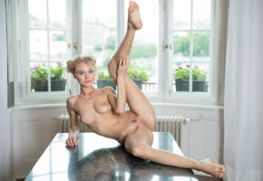 nancy ace, nancy a, jane f, erica, blonde, naked, boobs, tits, nipples, pussy, labia, spread legs, hi-q, trimmed pussy, landing strip