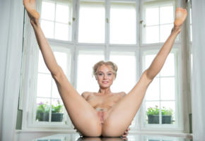 nancy ace, nancy a, jane f, erica, blonde, naked, tits, pussy, labia, ass, anus, spread legs, smile, hi-q, trimmed pussy, landing strip