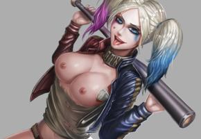 harley quinn, boobs, tits, batman